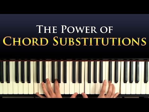 Jazz Piano Harmony: Chord Substitutions - A Tutorial