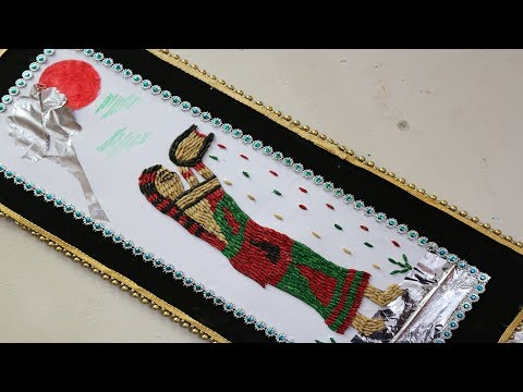 Amazing Wall-Mate Crafts Ideas || How To Make Wall Hanging for Room Decor - Waste out of best