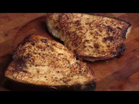 Pan Seared Swordfish Steaks with Mixed Seasoning