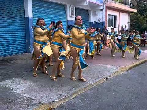 comparsa holbox en isla mujeres 2013