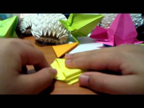 How to make origami cone