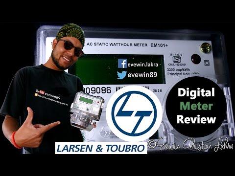 Evewin Lakra - L&T - Digital Meter - Review