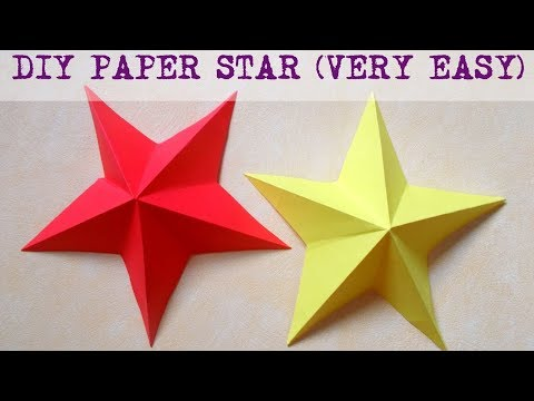 How to make paper star ?