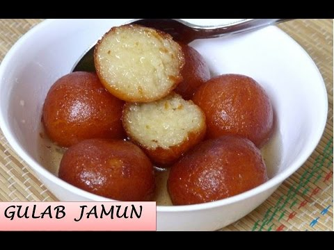 Instant Bread Gulab Jamun Recipe   How to Make Gulab Jamun   Bread Gulab Jamun Recipe
