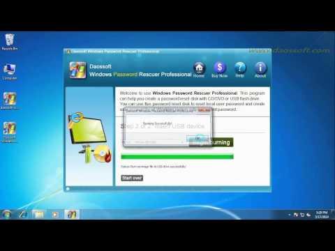 How to Unlock Windows 8 Admin Password on Samsung Laptop
