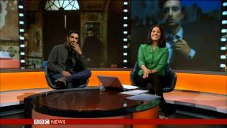 Riz Ahmed interview with Mishal Husain BBC World News