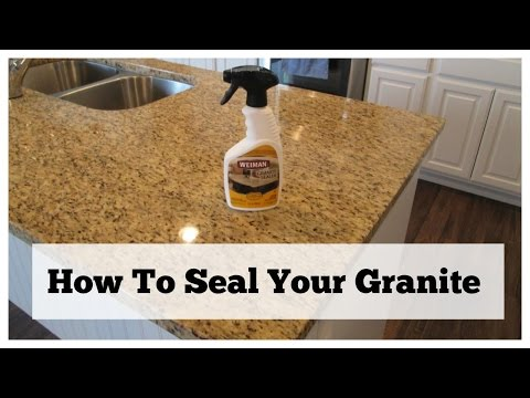 How To Seal Your Granite | Granite Countertop Care