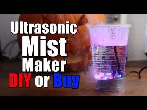 Ultrasonic Mist Maker || DIY or Buy