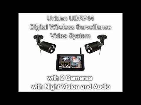 Uniden UDR744 Digital Wireless Surveillance Video System