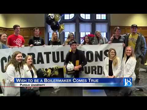 YOUNG MAN SURPRISED WITH TUITION ASSISTANCE FROM MAKE A WISH