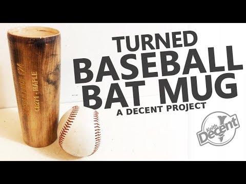 UPCYCLED BASEBALL BAT MUG - a Decent project