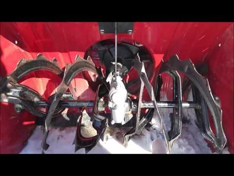 How To Replace A Shear Bolt On The Honda 928 Snowblower
