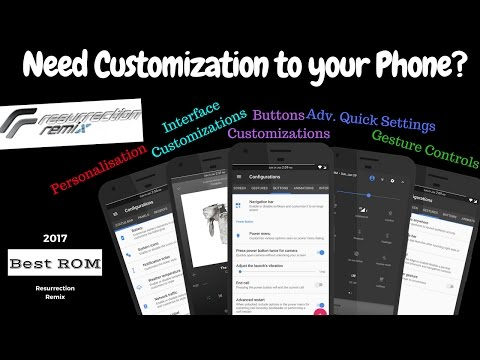 How to customize Android Phone using Resurrection Remix ROM 👈🏽 [ Any device   Easy Way ]