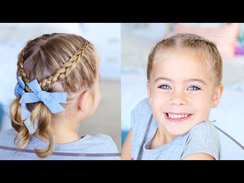 Criss-Cross Pigtails   Toddler Hairstyles   Cute Girls Hairstyles