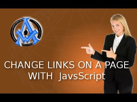 Change Links on Page With JavaScript