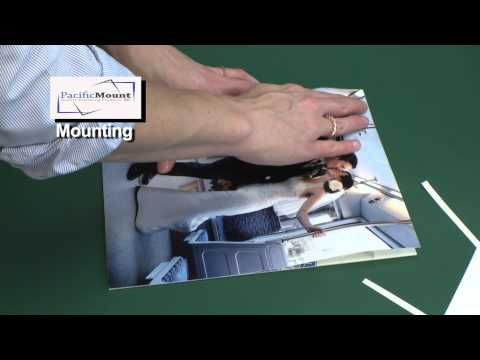 How to Mount Photos with Self-Adhesive Mount Board