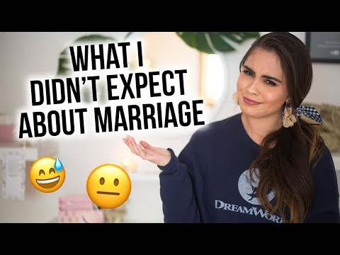8 THINGS I DIDN'T EXPECT ABOUT MARRIAGE ♡