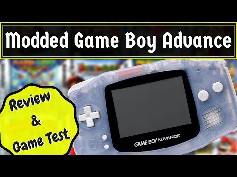 Modded Game Boy Advance | Review and Game Test