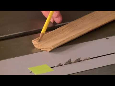 No Router? No Problem! How-to cut moldings at the table saw.
