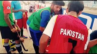Pakistan XI training to face FIH world XI hockey at Karachi, Sportswire Pakistan