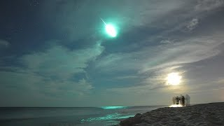 Bizarre Unseen Footage of Meteor in China Skies..(2017)