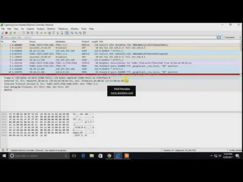 TCP Handshake & Password Sniffing using Wireshark