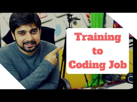 From Training to coding Jobs - Process