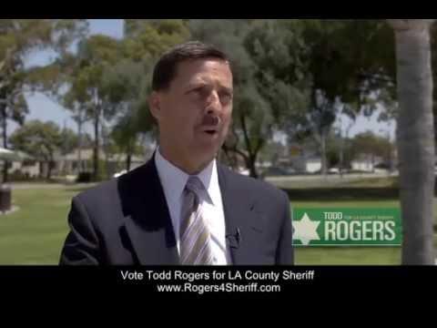 Todd Rogers for LA Sheriff - Humane Jails and Rehabilitation Programs