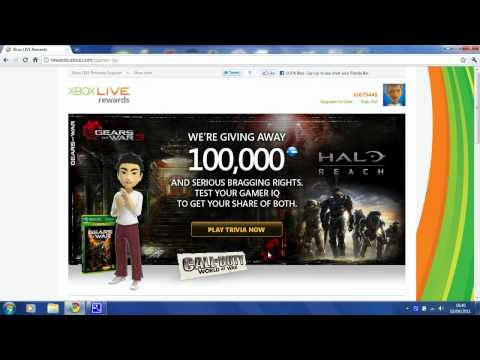 How To Get Free Microsoft Points (Xbox 360)