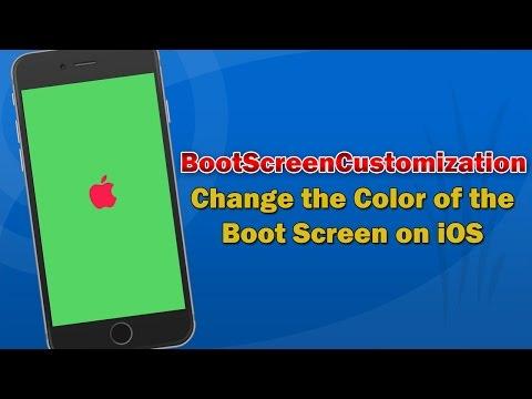 Change the Colour of iPhone Boot Screen | BootScreenCustomization Cydia Tweak Review