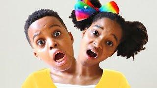 Bad Baby Shiloh HAS TWO HEADS AGAIN!! - Shiloh And Shasha - Onyx Kids