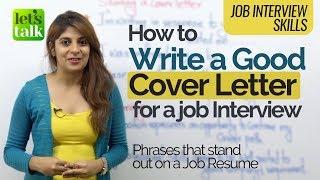 Job Interview Tips - How to write a