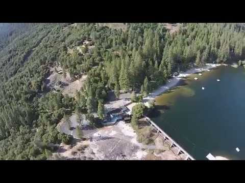 Twain Harte Lake Aerial Drone video