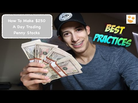 How To Make $250 A Day: Day Trading Penny Stocks: $JNUG, $TOPS & $DRYS   Episode 60