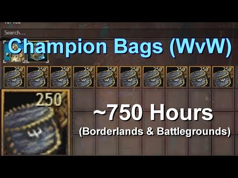 Opening 2,500 Embroidered Belt Pouches  |  Guild Wars 2