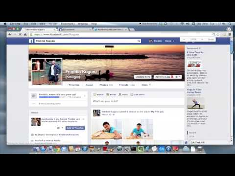 How to Edit the Year You Were Born on Facebook : Advanced Social Media Skills
