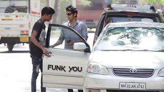 Blind Guy Driving a Car Prank  - Funk You (Pranks in India)