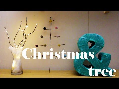 Christmas trees DIY ideas - 4th day of Christmas decor