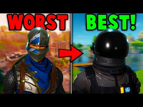 RANKING EVERY BATTLE PASS 2 AND 3 SKIN FROM WORST TO BEST! (Fortnite Battle Royale)