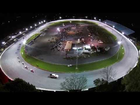 Oswego Speedway - Shampine Memorial 75 - By Air (HD)