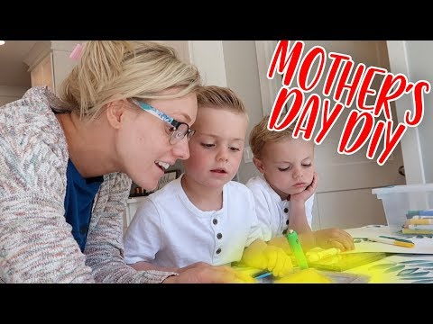 KIDS MAKE CUTE and SIMPLE DIY MOTHER'S DAY GIFT! | Ellie And Jared