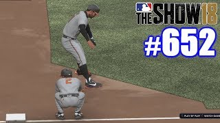 THEY NERFED CROSBY! | MLB The Show 18 | Road to the Show #652