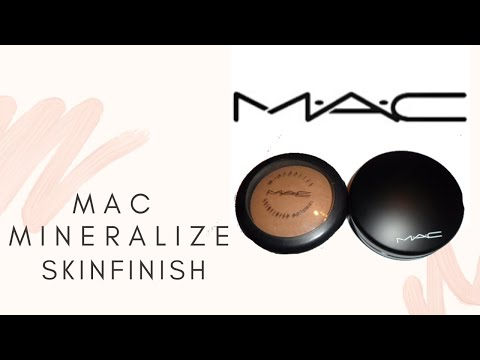 MAC Mineralize Skinfinish Natural (Dark Tan)- Review