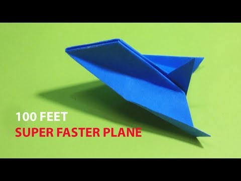Best Paper Airplane Designs | Easy Paper Airplane Tutorial Fold and Fly!
