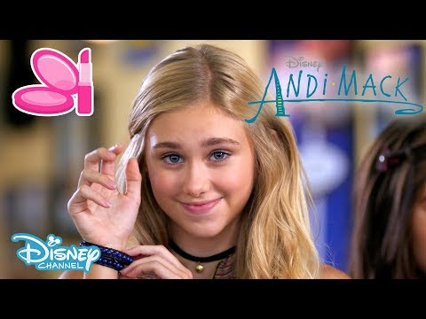 Andi Mack | Get The Look #2 - The Bracelet 💙 | Official Disney Channel UK
