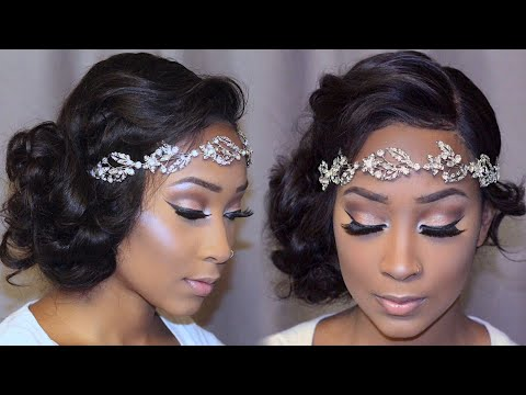 GRWM Bridal Edition- Full Makeup & Hair ( Beginner Friendly)