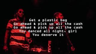 """Plastic Bag"" | Drake & Future | Lyrics"