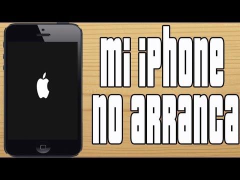 Que Hacer Si Mi iPhone/iPod/iPad No Arranca | Se Queda Trabado en la Manzana