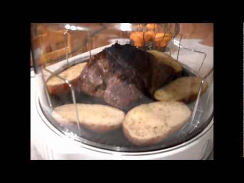 Review of The NuWave Infrared Oven 3-15-12.wmv