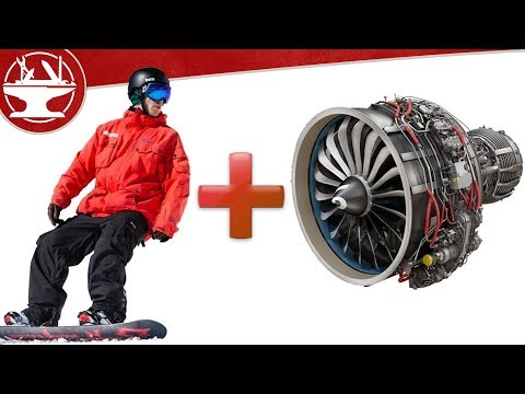 How Fast Does a 21HP Jet Powered Snowboard Go?